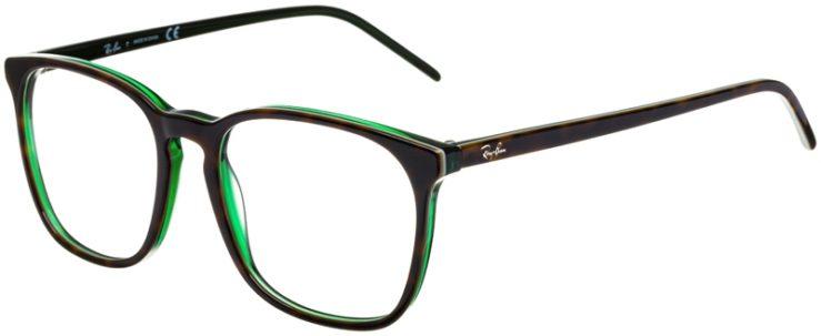 prescription-glasses-model-Ray-Ban-RB5387-Tortoise-Green-45