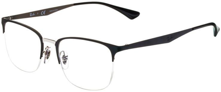 prescription-glasses-model-Ray-Ban-RB6433-Black-45