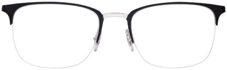 prescription-glasses-model-Ray-Ban-RB6433-Black-FRONT