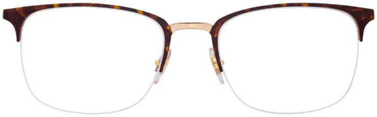 prescription-glasses-model-Ray-Ban-RB6433-Havana-Tortoise-FRONT