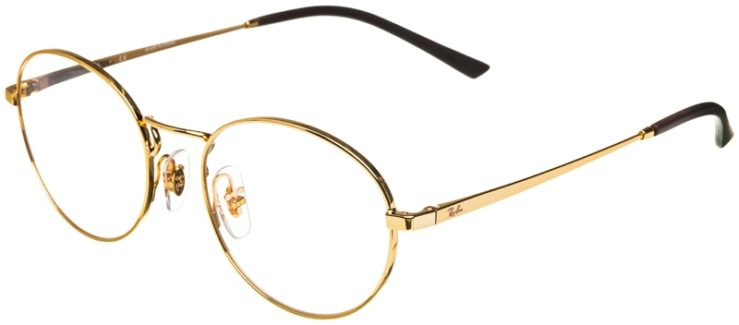 prescription-glasses-model-Ray-Ban-RB6439-Gold-45