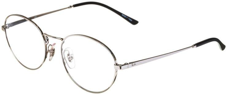 prescription-glasses-model-Ray-Ban-RB6439-Silver-45