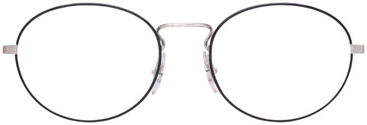 prescription-glasses-model-Ray-Ban-RB6439-Silver-FRONT