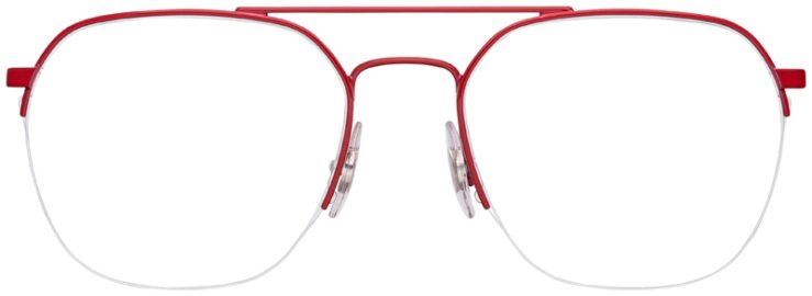 prescription-glasses-model-Ray-Ban-RB6444-Red-FRONT