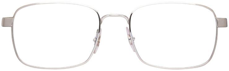 prescription-glasses-model-Ray-Ban-RB6445-Silver-Black-FRONT