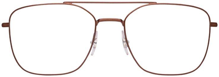 prescription-glasses-model-Ray-Ban-RB6450-Bronze-FRONT