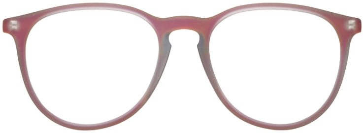 prescription-glasses-model-Ray-Ban-RB7046-Clear-Matte-Red-FRONT