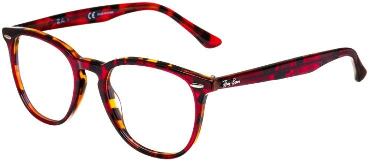 prescription-glasses-model-Ray-Ban-RB7159-Red-Havana-Tortoise-45