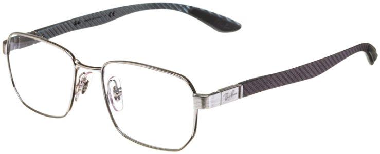 prescription-glasses-model-Ray-Ban-RB8419-Silver-45