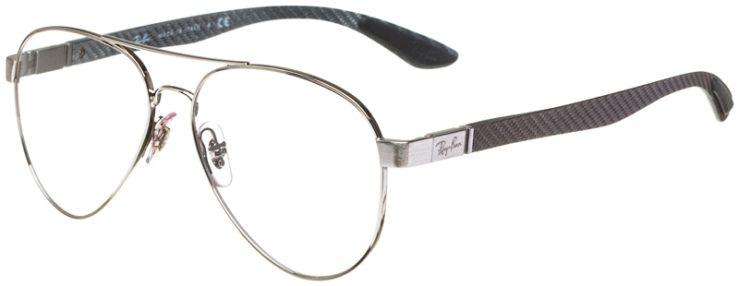 prescription-glasses-model-Ray-Ban-RB8420-Silver-45