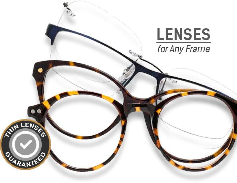 new lenses for your frame