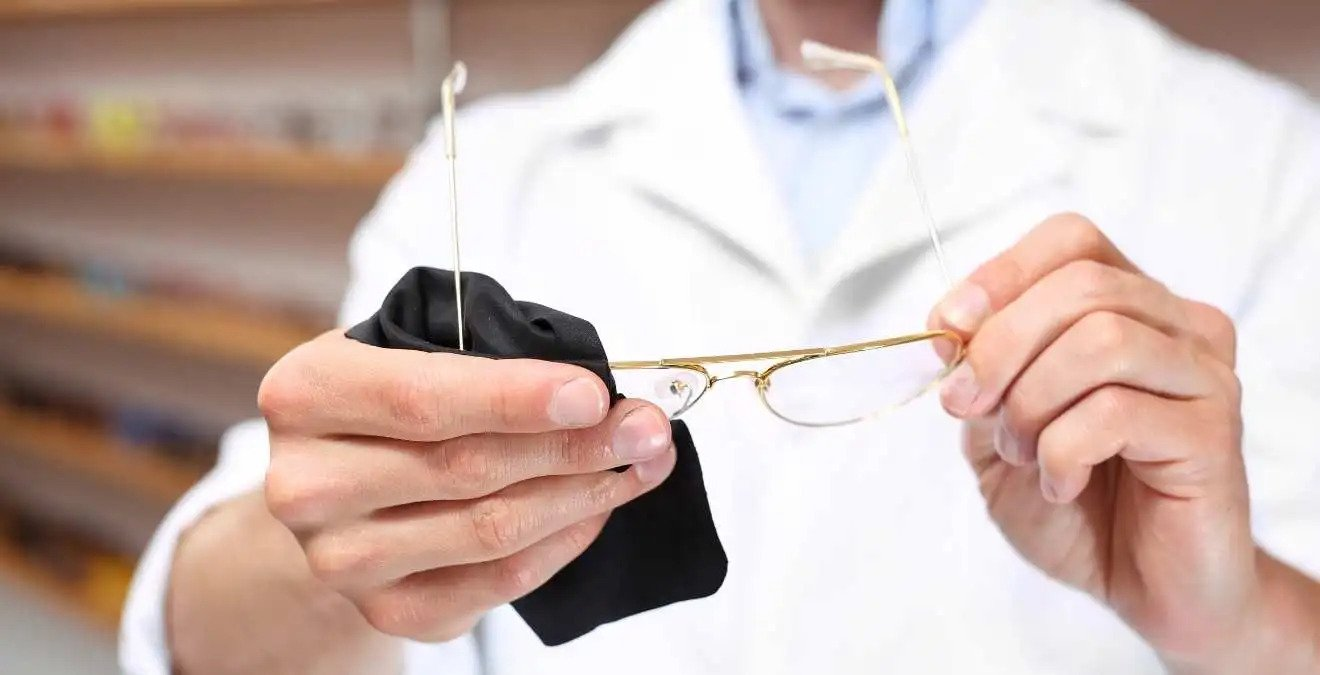 how to take care of glasses
