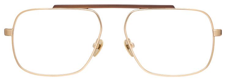 prescription-glasses-model-Calvin-Klein-CK18106-Gold-Brown-FRONT