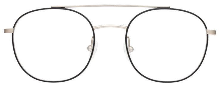 prescription-glasses-model-Calvin-Klein-CK18123-Matte-Black-Silver-FRONT