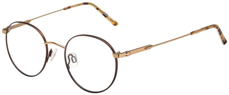 prescription-glasses-model-Calvin-Klein-CK19146F-Brown-Gold-45