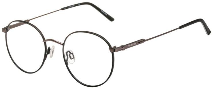prescription-glasses-model-Calvin-Klein-CK19146F-Matte-Black-Gunmetal-45