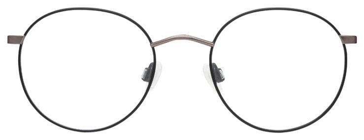 prescription-glasses-model-Calvin-Klein-CK19146F-Matte-Black-Gunmetal-FRONT