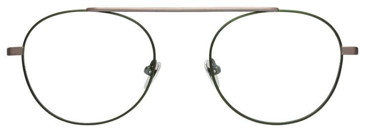 prescription-glasses-model-Calvin-Klein-CK19151-Gunmetal-Brown-FRONT