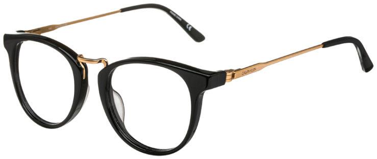 prescription-glasses-model-Calvin-Klein-Ck18721-Black-Gold-45