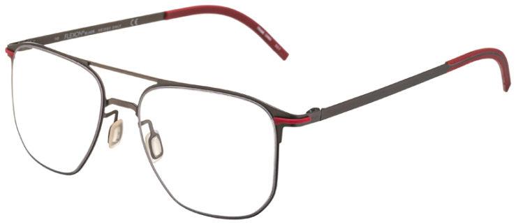 prescription-glasses-model-Flexon-B2004-Gunmetal-Red-45