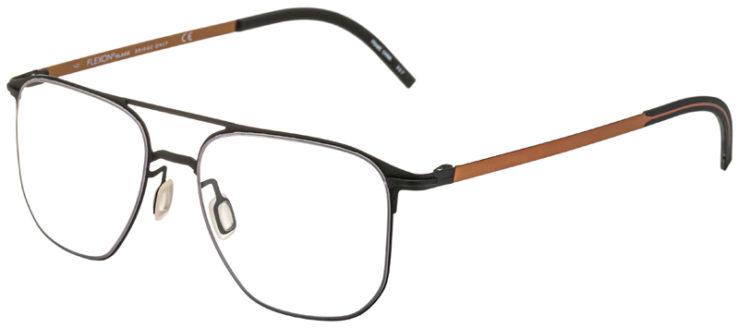 prescription-glasses-model-Flexon-B2004-Matte-Black-45