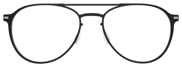 prescription-glasses-model-Flexon-B2028-Matte-Black-FRONT