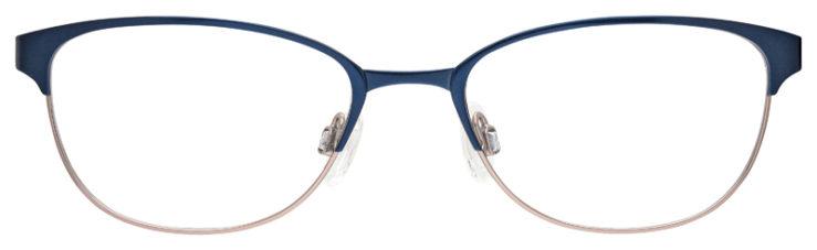 prescription-glasses-model-Flexon-Claudette-Navy-FRONT