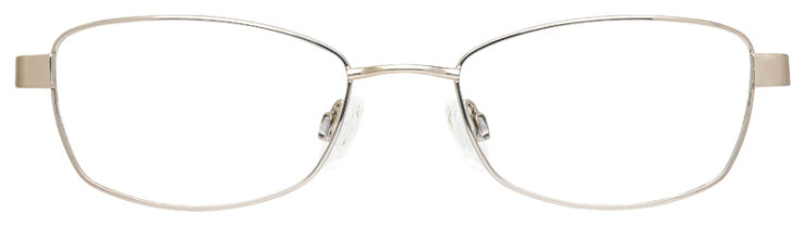 prescription-glasses-model-Flexon-Doris-Silver-crème-FRONT