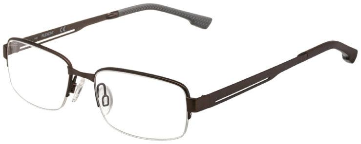 prescription-glasses-model-Flexon-E1047-Brown-45