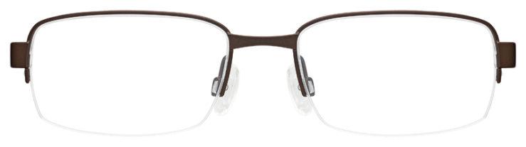 prescription-glasses-model-Flexon-E1047-Brown-FRONT