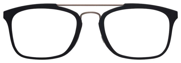 prescription-glasses-model-Flexon-E1087-Matte-Black-FRONT