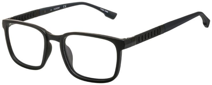 prescription-glasses-model-Flexon-E1116-Matte-Black-45