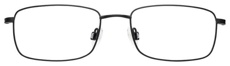 prescription-glasses-model-Flexon-H6012-Matte-Black-FRONT