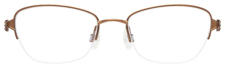 prescription-glasses-model-Flexon-Loretta-Brown-FRONT
