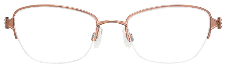 prescription-glasses-model-Flexon-Loretta-Rose-Gold-FRONT