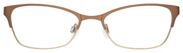 prescription-glasses-model-Flexon-Lucille-Brown-FRONT