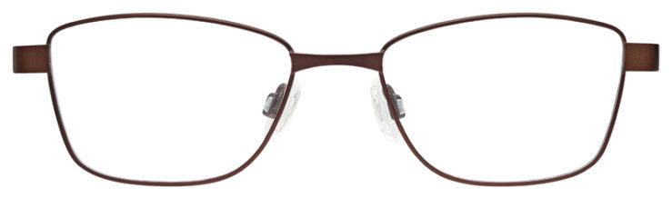 prescription-glasses-model-Flexon-Vivien-Brown-FRONT