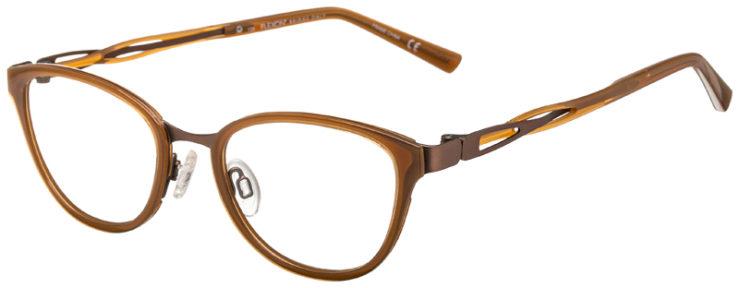 prescription-glasses-model-Flexon-W3011-Tan-45