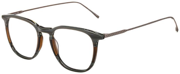 prescription-glasses-model-Lacoste-L2828-Striped-Grey-Brown-45