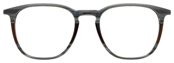 prescription-glasses-model-Lacoste-L2828-Striped-Grey-Brown-FRONT
