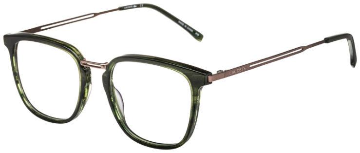 prescription-glasses-model-Lacoste-L2853PC-Green-Gunmetal-45