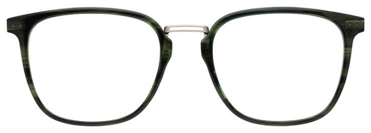 prescription-glasses-model-Lacoste-L2853PC-Green-Gunmetal-FRONT