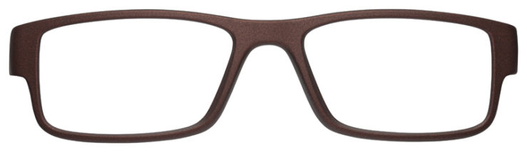 prescription-glasses-model-Oakley-Airdrop-Satin-Corten-FRONT