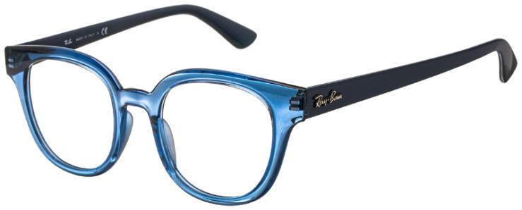 prescription-glasses-model-Ray-Ban-RB4324-Clear-Blue-45