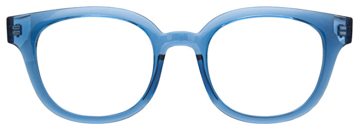 prescription-glasses-model-Ray-Ban-RB4324-Clear-Blue-FRONT