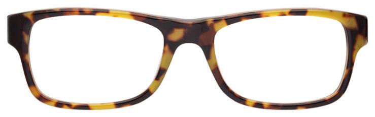 prescription-glasses-model-Ray-Ban-RB5268-Yellow-Tortoise-FRONT