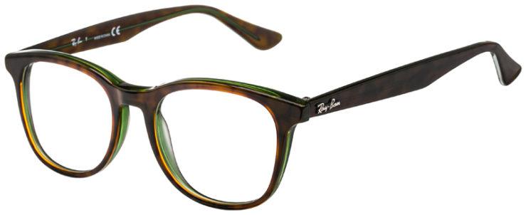 prescription-glasses-model-Ray-Ban-RB5356-Tortoise-Green-45