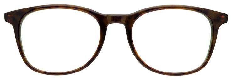 prescription-glasses-model-Ray-Ban-RB5356-Tortoise-Green-FRONT
