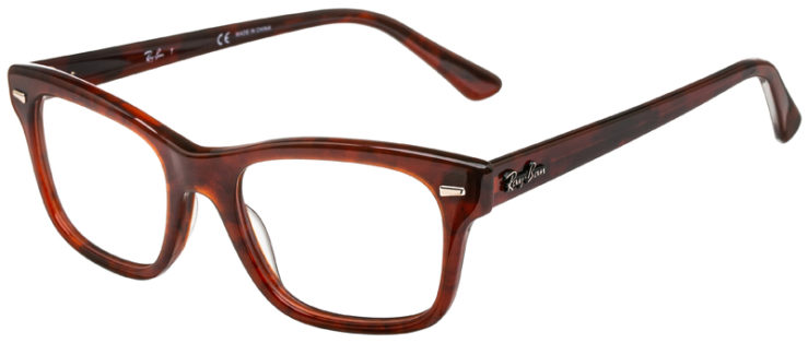 prescription-glasses-model-Ray-Ban-RB5383-Havana-45
