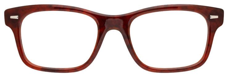 prescription-glasses-model-Ray-Ban-RB5383-Havana-FRONT